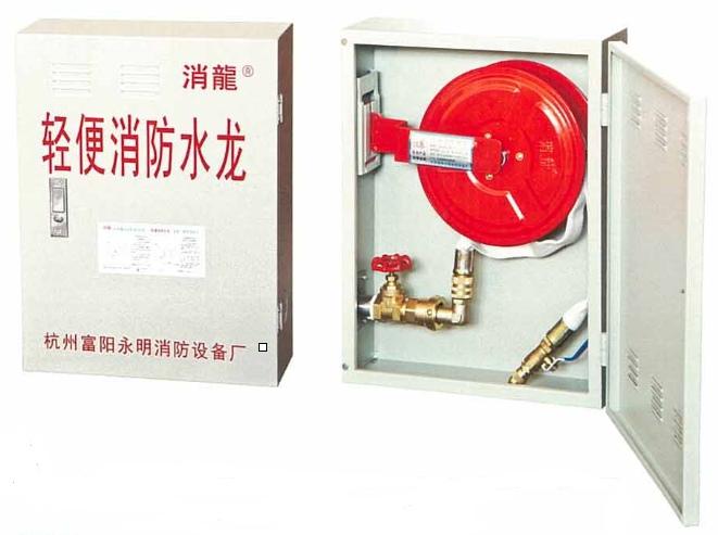 消防箱与立管安装方式